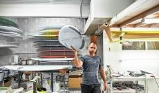 Surfboard Glassing