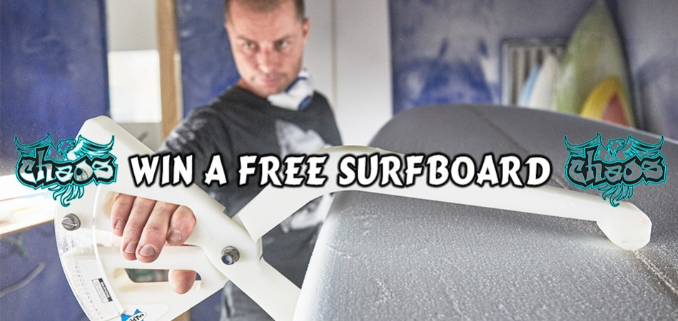 Win a FREE Surfboard